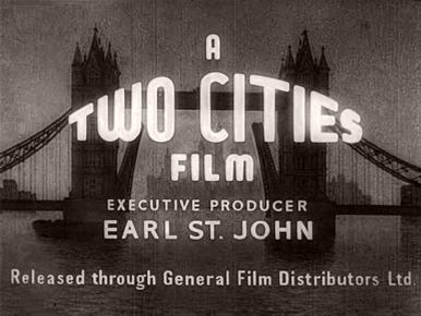 Main title from Highly Dangerous (1950) (2).  A Two Cities Film.  Executive Producer Earl St John.  Released through General Film Distributors Ltd