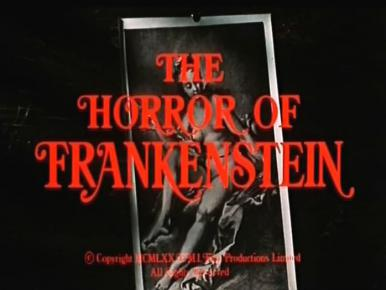 Main title from The Horror of Frankenstein (1970) (2)
