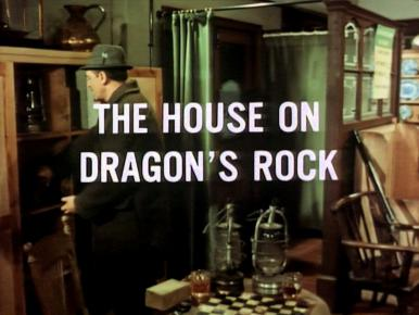 Screenshot from the 1966 'The House on Dragon's Rock' episode of The Saint (1962-1969) (3)