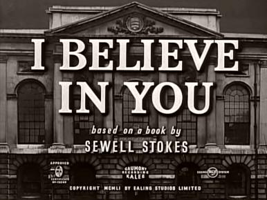 Main title from I Believe in You (1952)