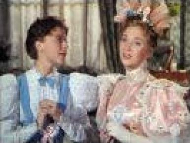 Dorothy Tutin, Joan Greenwood, Michael Redgrave and Michael Denison in a film clip from The Importance of Being Earnest