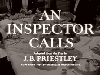 Main title from An Inspector Calls (1954)
