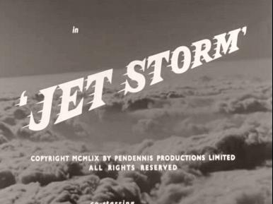 Main title from Jet Storm (1959) (4).  Copyright MCMLIX by Pendennis Productions Limited.  All rights reserved