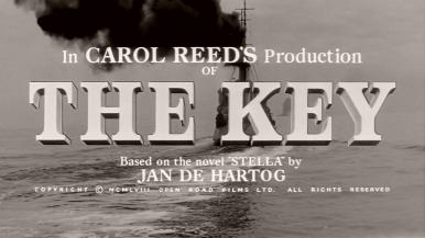 Main title from The Key (1958) (9)