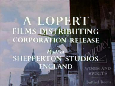 Main title from A Kid for Two Farthings (1955) (8).  A Lopert Films Distributing Corporation Release.  Made at Shepperton Studios England