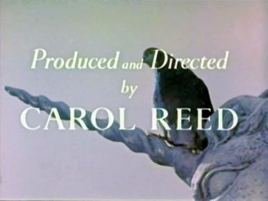 Main title from A Kid for Two Farthings (1955) (9).  Produced and directed by Carol Reed