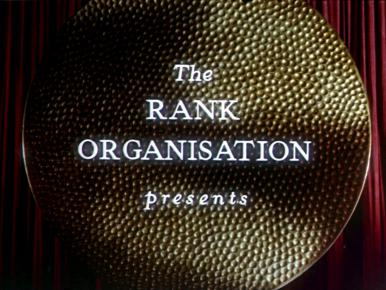 Main title from The Ladykillers (1955) (1).  The Rank Organisation presents
