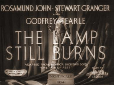 Main title from The Lamp Still Burns (1943)