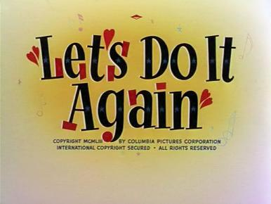 Main title from Let's Do It Again (1953) (5)