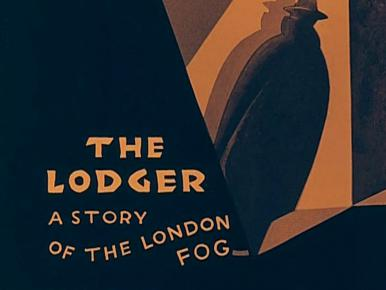 Main title from The Lodger (1927) (3).  A story of the London fog