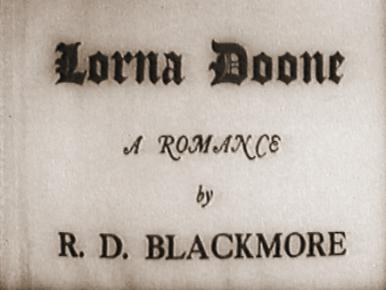 Main title from Lorna Doone (1934)
