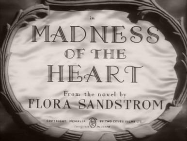 Main title from Madness of the Heart (1949)