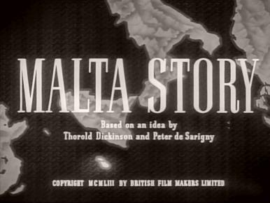 Main title from Malta Story (1953)