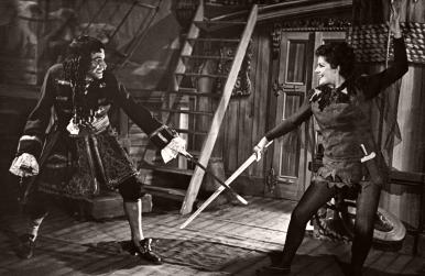 Peter Pan (Scala Theatre, 1950) photo | John Justin, Margaret Lockwood