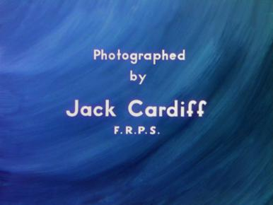 Main title from A Matter of Life and Death (1946) (10).  Photographed by Jack Cardiff FRPS