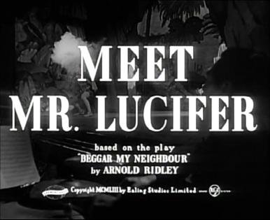 Main title from Meet Mr Lucifer (1953)