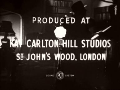Main title from The Monkey's Paw (1948) (10).  Produced at Kay Carlton Hill Studios St John's Wood, London
