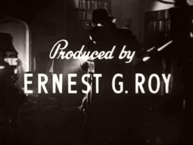 Main title from The Monkey's Paw (1948) (11).  Produced by Ernest G Roy