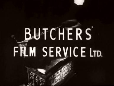 Main title from The Monkey's Paw (1948) (14).  Butchers' Film Service Ltd