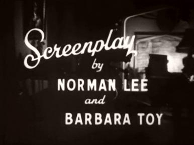 Main title from The Monkey's Paw (1948) (6).  Screenplay by Norman Lee and Barbara Toy