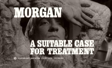 Main title from Morgan: A Suitable Case for Treatment (1966) (4)