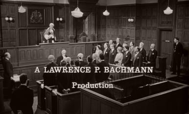 Main title from Murder Most Foul (1964) (3).  A Lawrence P Bachmann Production