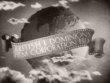 Main title from Nell Gwyn (1934) (1).  British & Dominions Film Corporation Ltd