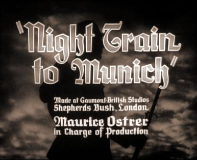 Main title from Night Train to Munich (1940)