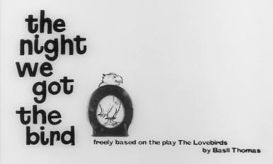 Main title from The Night We Got the Bird (1961) (4)