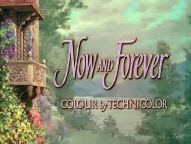 Main title from Now and Forever (1956) (5).  Colour by Technicolor