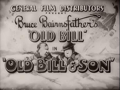 Old Bill and Son (1941) opening credits (5)