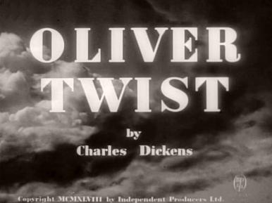 Main title from Oliver Twist (1948).  By Charles Dickens.  Copyright 1948 by Independent Producers Ltd