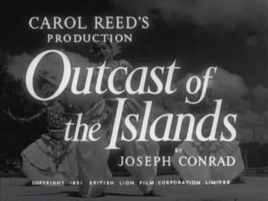 Main title from Outcast of the Islands (1951)