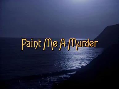 Opening credits from the 1985 'Paint Me a Murder' episode of Murder, She Wrote (1984-1996) (1)