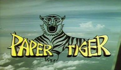 Main title from Paper Tiger (1975) (5)