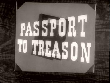 Main title from Passport to Treason (1956) (2)