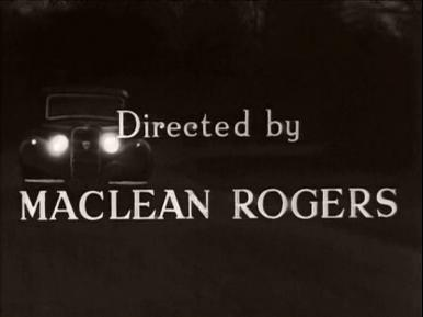 Main title from Paul Temple's Triumph (1950) (12).  Directed by Maclean Rogers