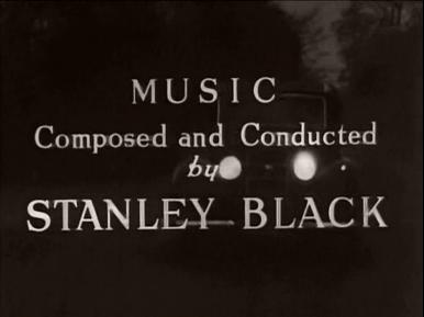 Main title from Paul Temple's Triumph (1950) (9).  Music composed and conducted by Stanley Black
