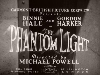 Main title from The Phantom Light (1935)