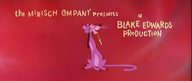 The Pink Panther (1964) opening credits (2)