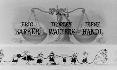 Main title from The Pure Hell of St Trinian's (1960) opening credits (5)