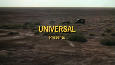 Main title from Raid on Rommel (1971) (4). Universal presents