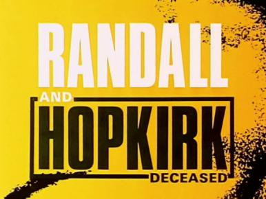 Randall and Hopkirk (Deceased) (1969-1971) opening credits (1)