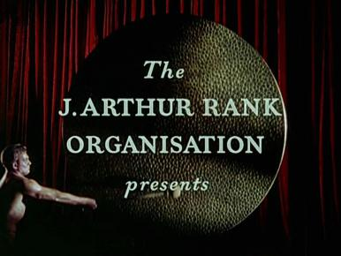 Main title from Romeo and Juliet (1954) (1).  The J Arthur Rank Organisation presents