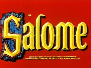 Main title from Salome (1953)