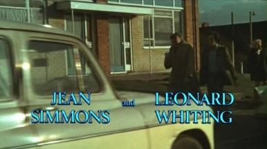 Main title from Say Hello to Yesterday (1971) (3).  Jean Simmons and Leonard Whtiting