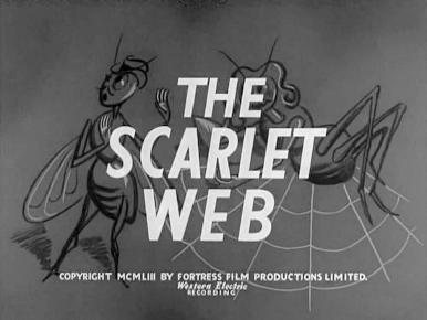 Main title from The Scarlet Web (1954)