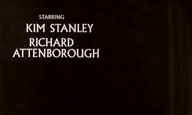 Main title from Seance on a Wet Afternoon (1964) (4).  Starring Kim Stanley Richard Attenborough