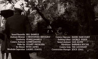Main title from Seance on a Wet Afternoon (1964) (6)