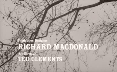 Main title from The Servant (1963) (10)